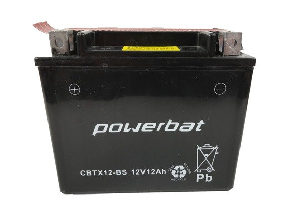 Akumulator POWERBAT 12V 10Ah CBTX12-BS