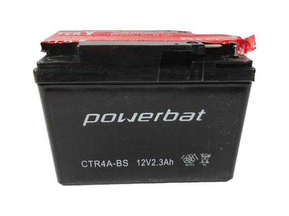 Akumulator POWERBAT 12V 2,3Ah CTR4A-BS